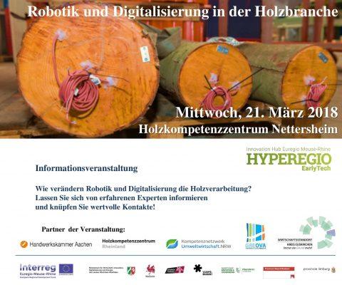 Evènement bois & robotique