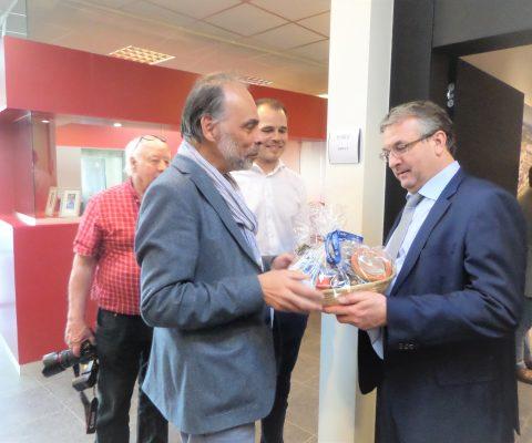 Visite ministérielle en Ourthe-Amblève