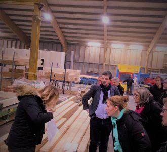 HYPEREGIO : Entreprises et étudiants allemands visitent MOBIC SA